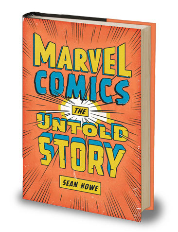 "seanhowe:  Well, today's the big day! Marvel Comics: The Untold Story is finally out there in the world. I hope you enjoy it.If you're in New York, join us this evening at PowerHouse. It should be fun!  Amazon says mine is ""OUT FOR DELIVERY.""  Congrats, Sean!"