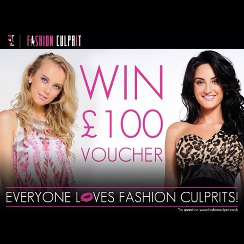 Enter our competition on Facebook people! Www.facebook.com/fashionculprit.co.uk (Taken with Instagram)