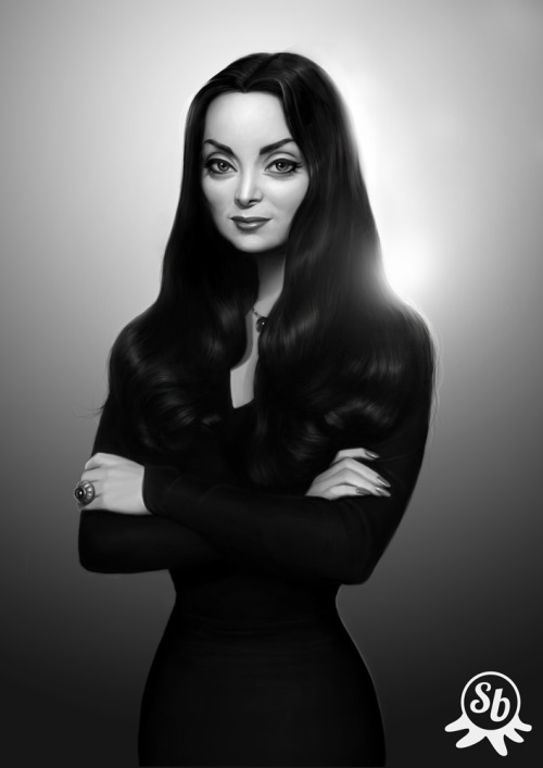 Morticia by ~PapaNinja