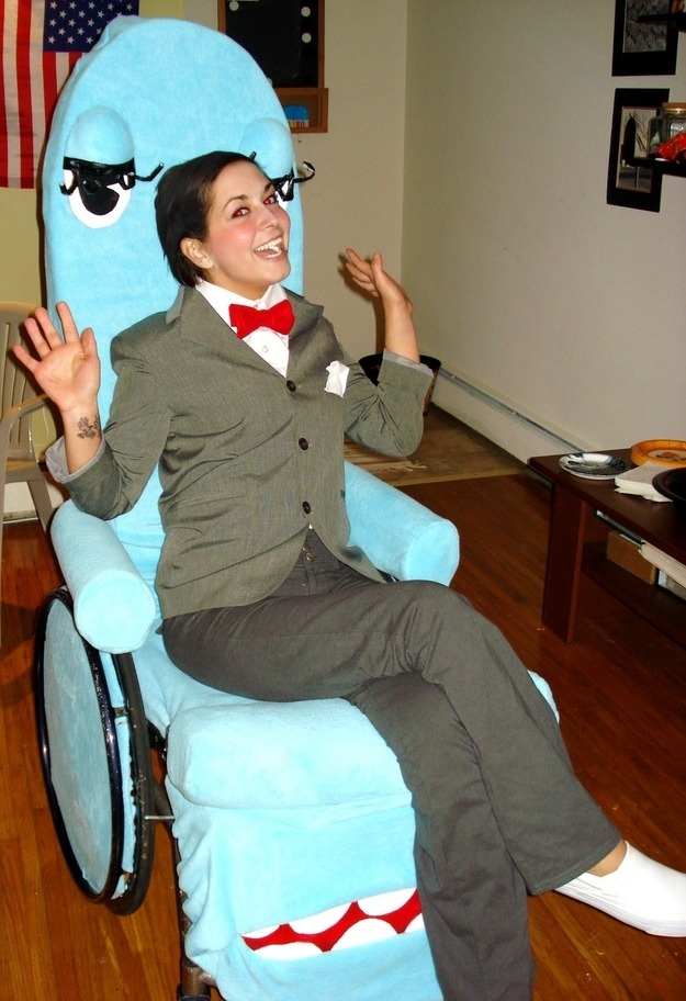 20 Creative Costume Ideas For People In Wheelchairs