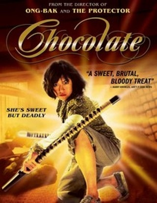 "I am watching Chocolate                   ""She came to bring the pain.""                                Check-in to               Chocolate on GetGlue.com"