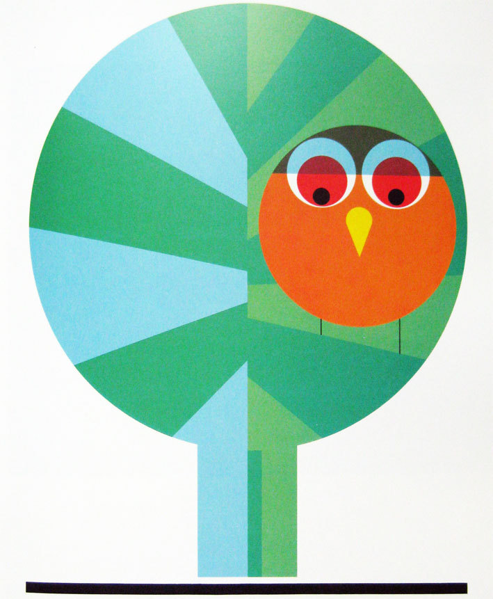 "inspirationappetite:  ""Owl"" by Paul Ibou, 1967"