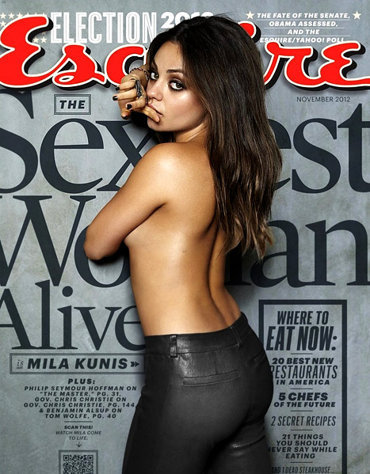agentchico:  Mila Kunis as the sexiest woman in 2012?  I'm okay with this ;D   she's always been sexy to me and I've had a huge crush on her for a long time ._. haha