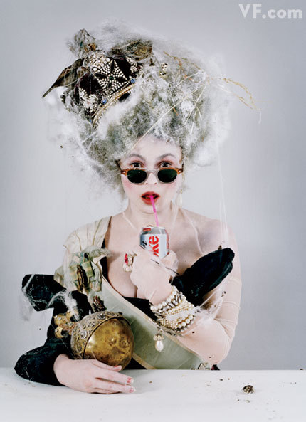 bohemea:  Helena Bonham Carter - Vanity Fair by Tim Walker, March 2011