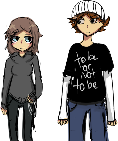 nursepandas:  Characters from my book report the one im doing basically by myself ayyooooo kind of happy with the style its a matter of time before I hate it.