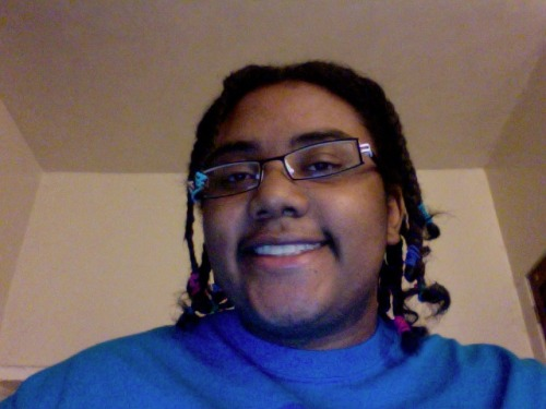 guess who did her hair for the night~ :3