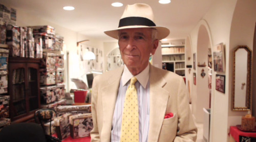"Gay Talese's underground writing bunker — The New Yorker has a short video feature on journalist Gay Talese's home office, which is located beneath his townhome in what used to be a wine cellar.  Talese now decorates it with collages of his stories and keeps a wide assortment of files and notes from each piece and story he's worked on — going back decades.  What amused me greatly was to see how Talese takes his notes. As a former journalism student, I'm always fascinated how journalists take notes as there's no one ""right"" way to do it. Talese's method works for him and I think it's pretty cool.  Other great videos featuring Gay Talese: Put This On, S1E7 - ""Personal Style"" Big Think interview with Gay Talese Jake Davis Test Shots: Gay Talese Men.Style.com visit to Gay Talese's home Gilt MANual: Tour of Gay Talese's hat closet An Evening with Gay Talese G.Q. Style Sages: Gay Talese Vine Talk: Gay Talese on wine culture"