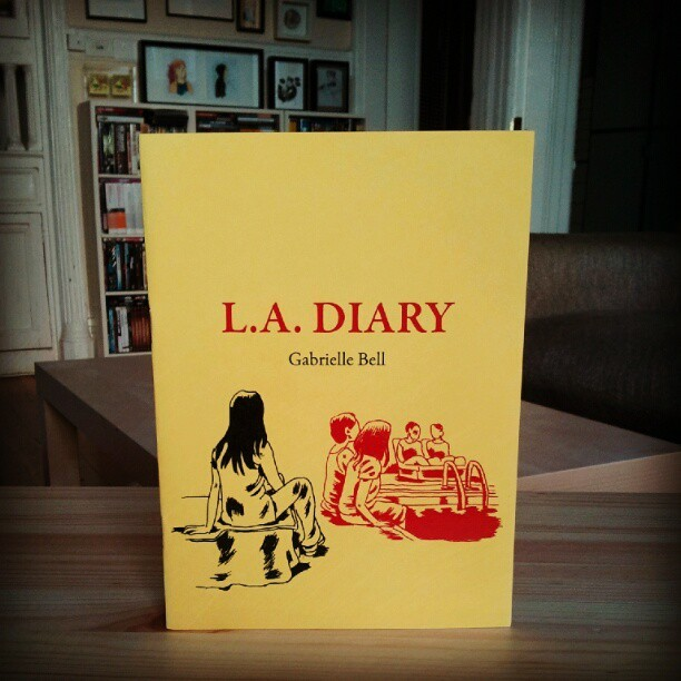 gabrielle bell's L.A. DIARY (Taken by chris anthony diaz with Instagram)