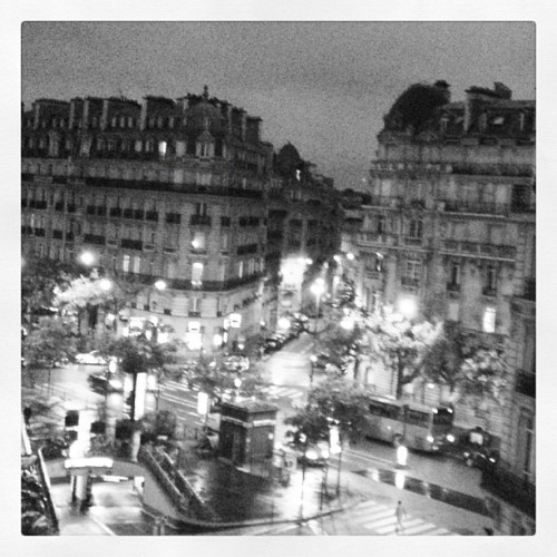 christopherdickey:  Good morning Paris, 7:40 am (Taken with Instagram)