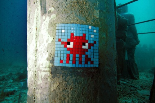 Urban Space Invaders by http://www.space-invaders.com/