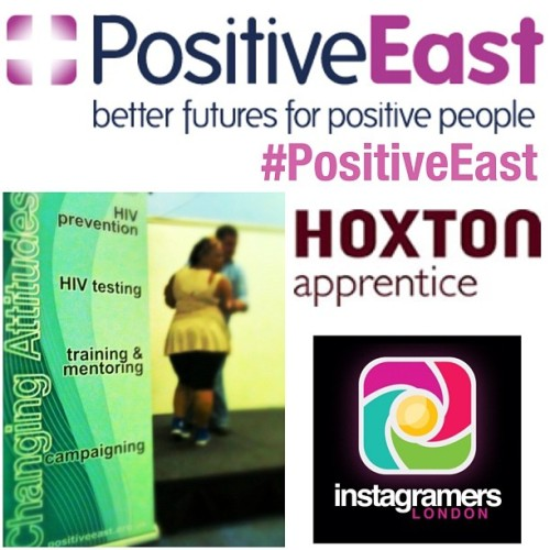 Enter @PositiveEast charity photography contest to have your images printed next to @Mo_Farah @jodycundy and @chrissyohuruogu #PositiveEast   To be part of this wonderful fundraiser and to be in the company of some amazing images from some of our Olympic Heros Mo Farah, Jody Cundy and Christine Ohuruogu take a photograph that reflects, life, love, positivity in London, tag them #PositiveEast and upload it to Instagram.  you can also follow @positiveeast on twitter.  In the process you'll be helping to raise much needed funding for Positive East, London's community-based HIV organisation which supports some of the individuals most at risk of HIV transmission in the country.  The competition will run for 7 days until 12 middnight GMT on Monday 15th October.  Winning pictures will be selected to be sold at a charity auction taking place at the Hoxton Apprentice, Hoxton Square on 7 November. All proceeds will go to Positive East and all the auction will be open to all IGers.   Although this competition is London themed, it is open to Instagramers worldwide. The judges decision is final and we reserve the right to amend the rules, introduce changes and close the competition at any time . Please feel free to repost!  For more information on Positive East visit their website www.positiveeast.org.uk. Have fun and good luck! (Taken with Instagram)