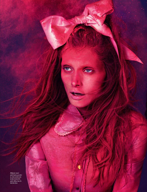 Malgosia Bela by Mert & Marcus for Love Magazine #8