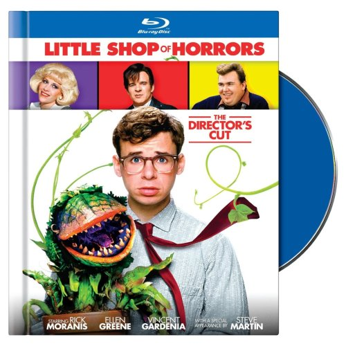 The Little Shop of Horrors Director's Cut is available on DVD/Blu-Ray today! This version includes the VERY different (and apocalyptic) original ending and a slew of other special features!