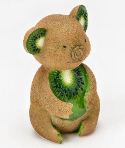 Fruits Animal Art via Creativegreed