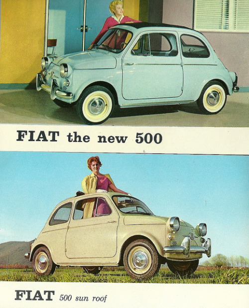 500 in America, late fifties by Hugo90 on Flickr.500 in America, late fifties