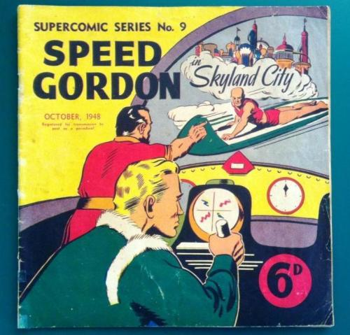 "Australian issue of Supercomic series #9 Flash Gordon retitled Speed Gordon to avoid a negative connotation of the word ""Flash"". At the time, the predominant meaning of ""flash"" was ""showy"", connoting dishonesty."