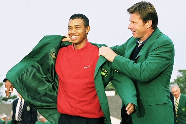 Tiger Woods didn't just win his first major as a professional golfer in April 1997. The 21-year-old demolished the field, winning by a tournament-record 12 shots