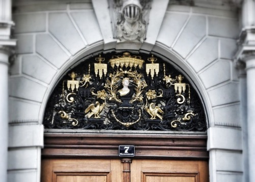Doorway in Vienna, Austria  (Own photo)