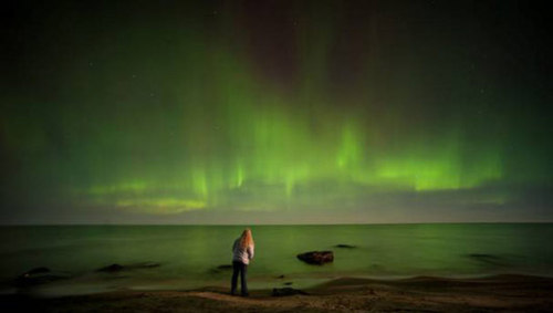 mothernaturenetwork:  Solar eruption may boost northern lights display tonightThe collection of solar particles will land a 'glancing blow' on the Earth's atmosphere.
