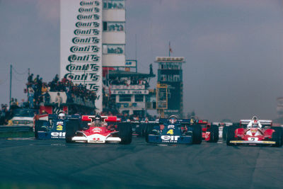 what we miss … landmarks(re)start of the 1976 German Grand Prix, Nürburgring