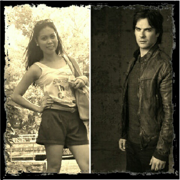 I wished to be elena gilbert.. haha  (Taken with Instagram)