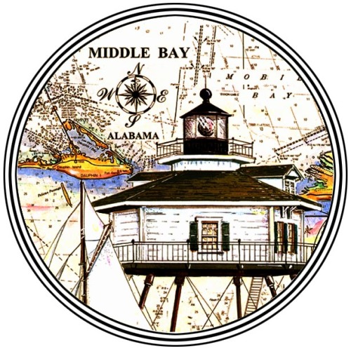 Middle Bay Light, Mobile, Alabama