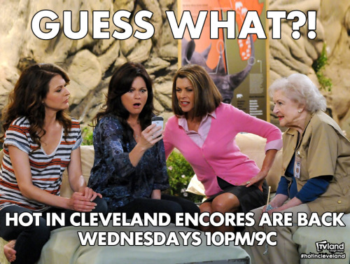 hotinclevelandblogs:  Yeah!  So excited - waiting for the November 28 season premiere will be so much easier now!