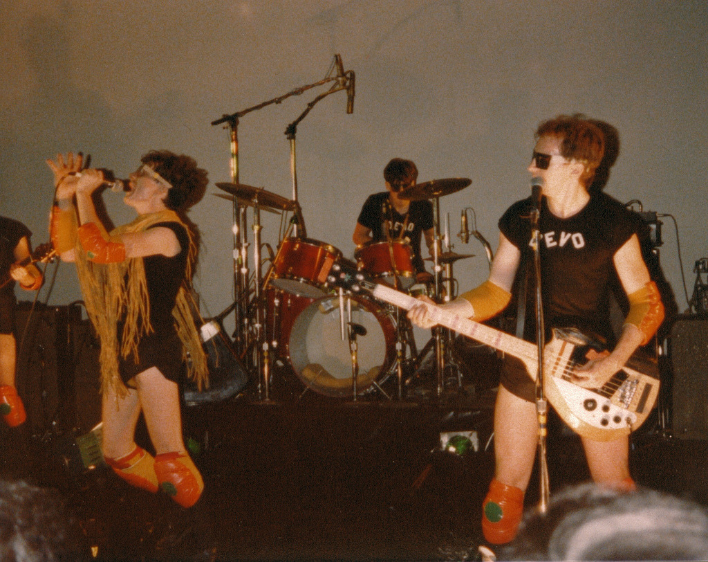 stuffaboutminneapolis:  Devo at the Walker Art Center, November 3, 1978 by Project: onewe