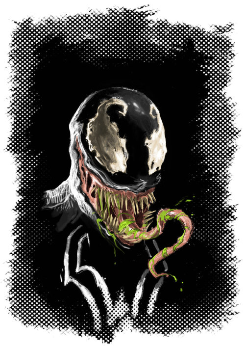VenoM Art by Dimitar Torbakov (via: herochan)