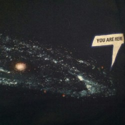 You are here. T-shirt of the day by @kevinmarnold  (Taken with Instagram)
