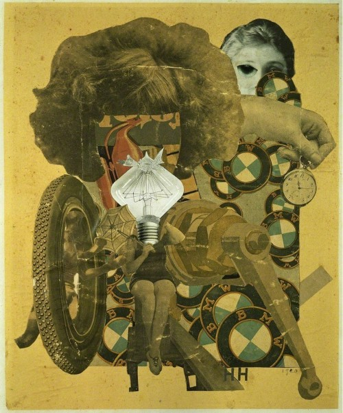 Hannah HöchDas schöne Mädchen (The Beautiful Girl), 1920Collage