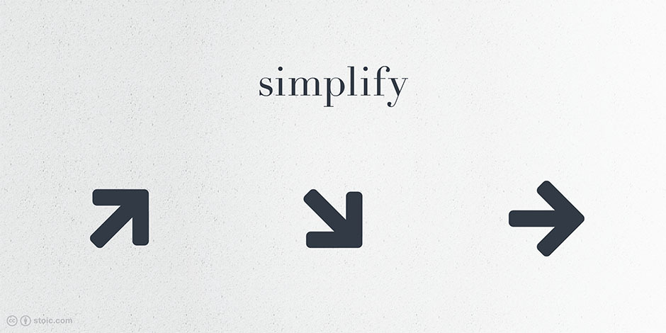 simplify arrow, by nevermoond and Font Awesome