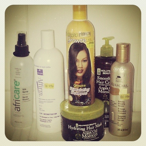 Black hair care products