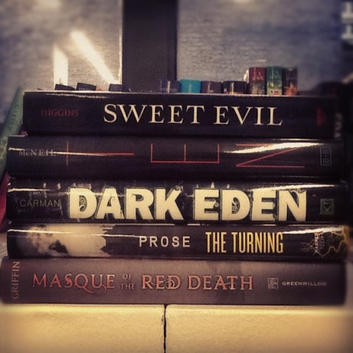 One lucky winner will win these books for #AllHallowsRead on Epicreads.com!