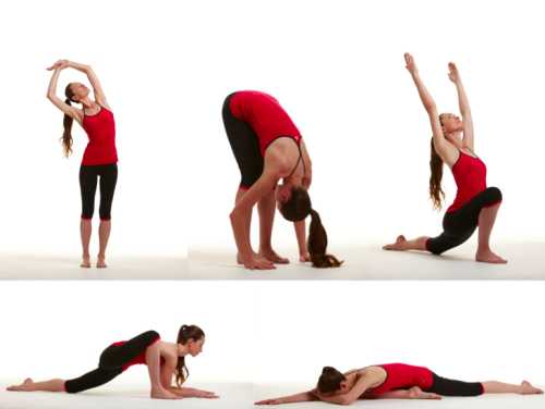 tarastileseats:  A simple routine to release tension in the hips and back and calm and ease the mind! Enjoy! Full Yoga pose library included in This is Yoga. Deep breaths!