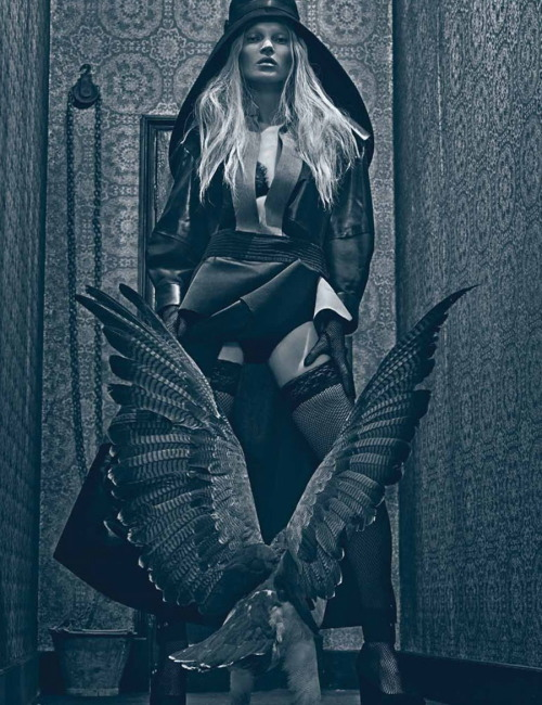 localshop:  Kate Moss Photographed by Steven Klein for W Magazine March 2012
