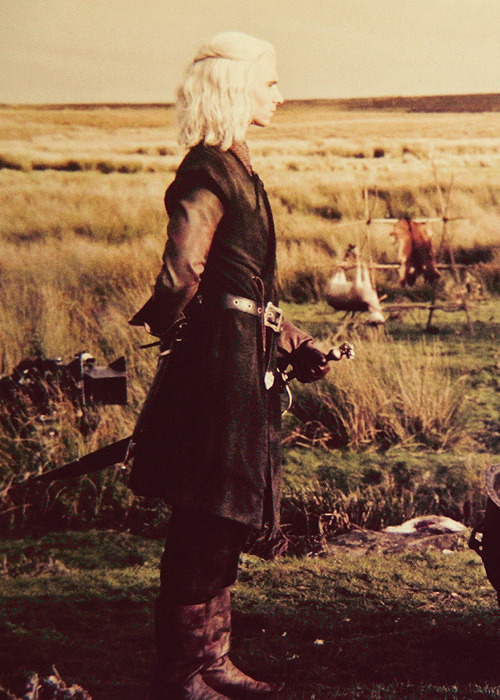 Viserys Targaryen from Inside HBO's Game of Thrones