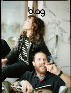 More things to celebrate  … a little exclusive outtake from blag's cover shoot - as always, please help support the creators and reblog or like soley from the original source.