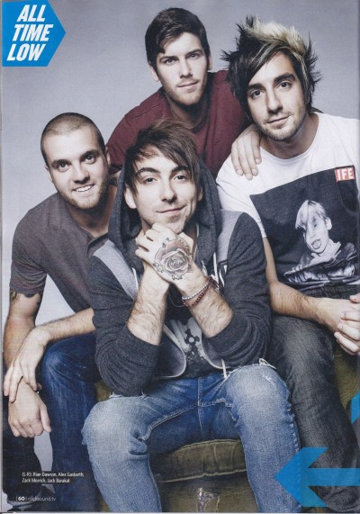 All Time Low in Rocksound Magazine November 2012 (1/2)