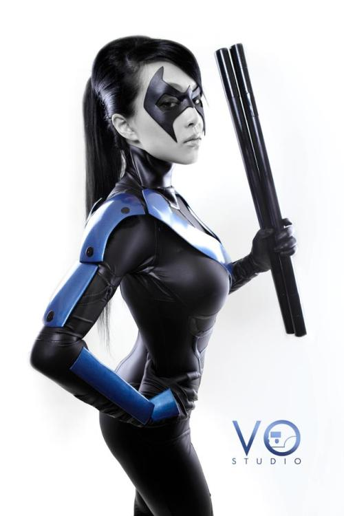 Cosplay of the day: Lady Nightwing Model is Linda Le, photo by Long Vo