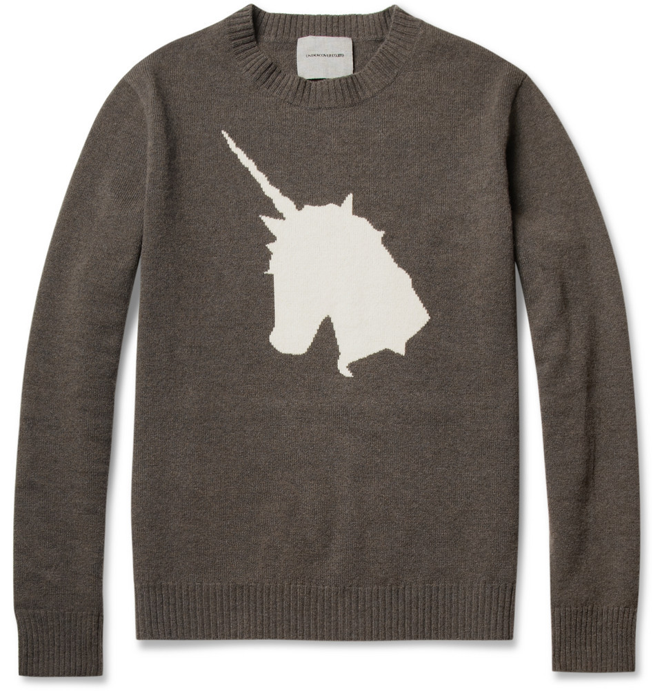 Unicorn sweater is my unicorn.