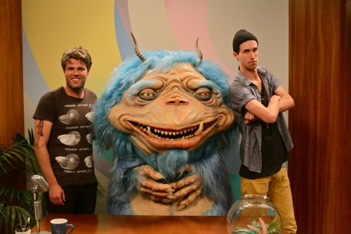 3OH!3 on The Gorburger Show 3OH!3 is the latest band to join The Gorburger Show, engaging the lovable space monster in pleasant banter despite risking peril to satisfy his bloodlust.