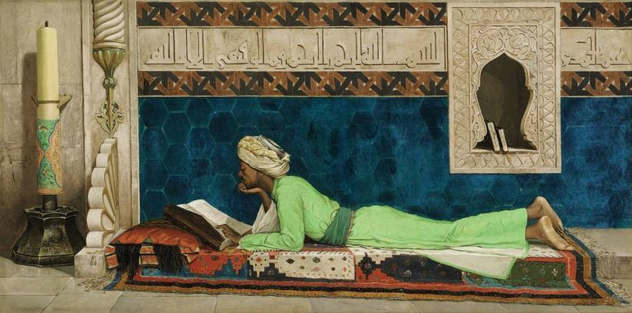 Turkish artist Osman Hamdy Bey's 'The Scholar'