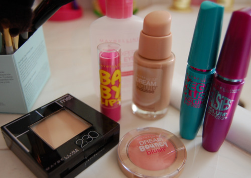 maybelline:  The daily beauty routine.