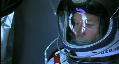 Sky Stall. Felix Baumgartner's supersonic space jump has been aborted for today due to high winds. The jump will be rescheduled. [via]