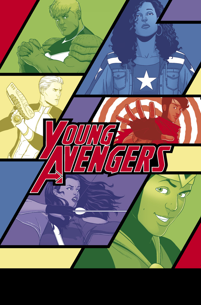 mckelvie:  Kieron and I are doing YOUNG AVENGERS together, launching in January 2013. We're joined by Mike Norton, Matt Wilson and Clayton Cowles. Lots more info on his tumblr and the linked CBR interview.  I can get down with this.
