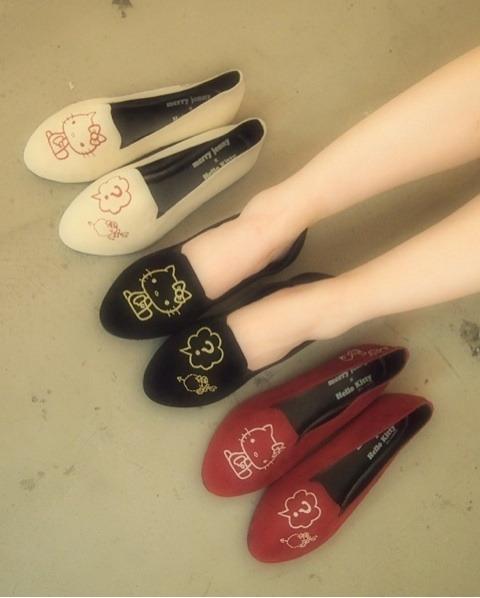 kawaii kitty merry jenny shoes
