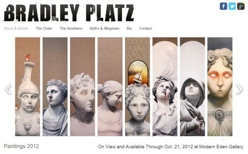 Bradley Platz Art's New Website is Online @ www.BradleyPlatz.com Works from 2005-2012. If you get a minute click your way over there and take a look!