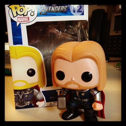 I received a new friend at work today! #miniThor (Taken with Instagram)