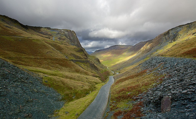 Honister Pass Slate by dmass on Flickr.
